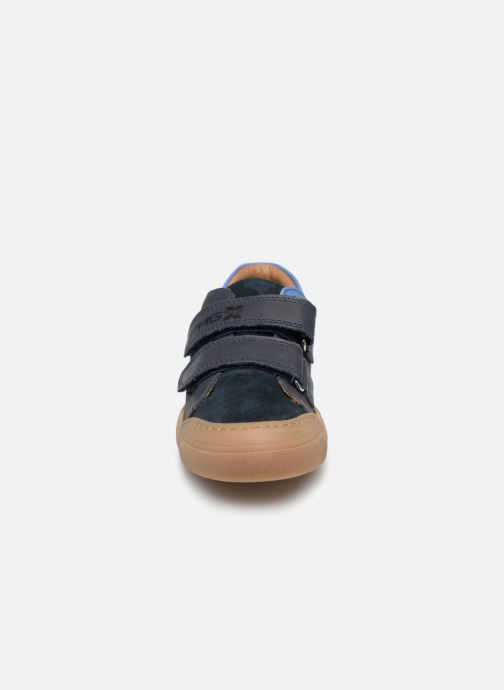 Sneaker Primigi PTM 34239 blau schuhe getragen