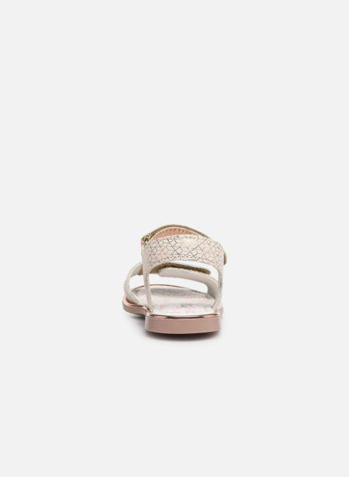Sandales et nu-pieds Primigi PHD 34163 Argent vue droite