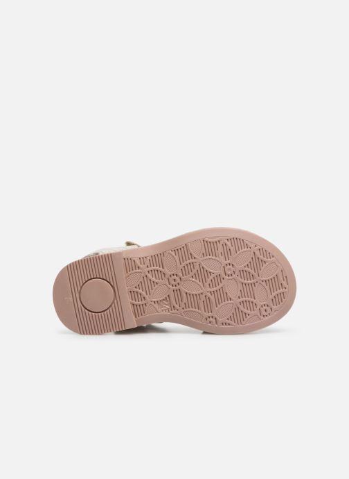 Sandales et nu-pieds Primigi PHD 34163 Argent vue haut