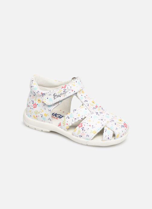 Sandales et nu-pieds Primigi PPB 34024 Blanc vue détail/paire