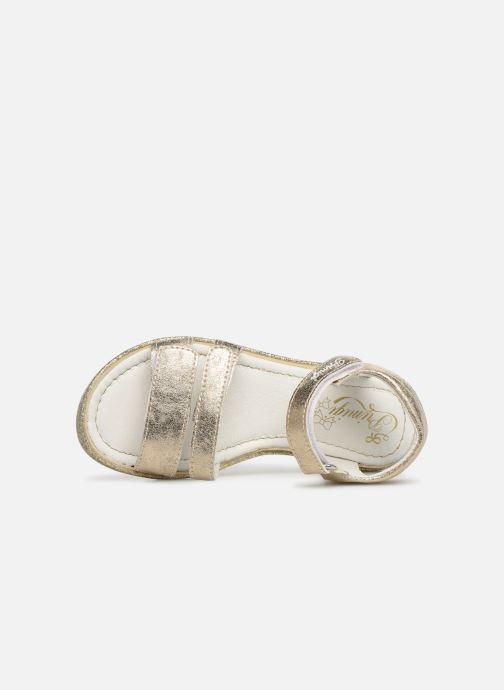 Sandales et nu-pieds Primigi PES 34313 Or et bronze vue gauche