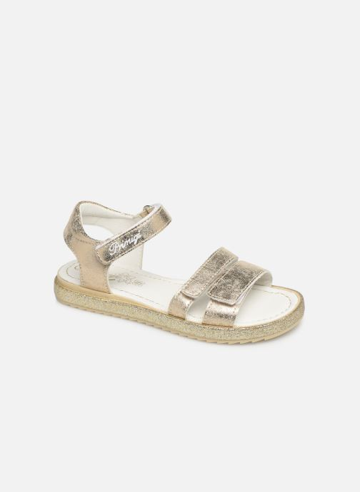Sandals Primigi PES 34313 Bronze and Gold detailed view/ Pair view