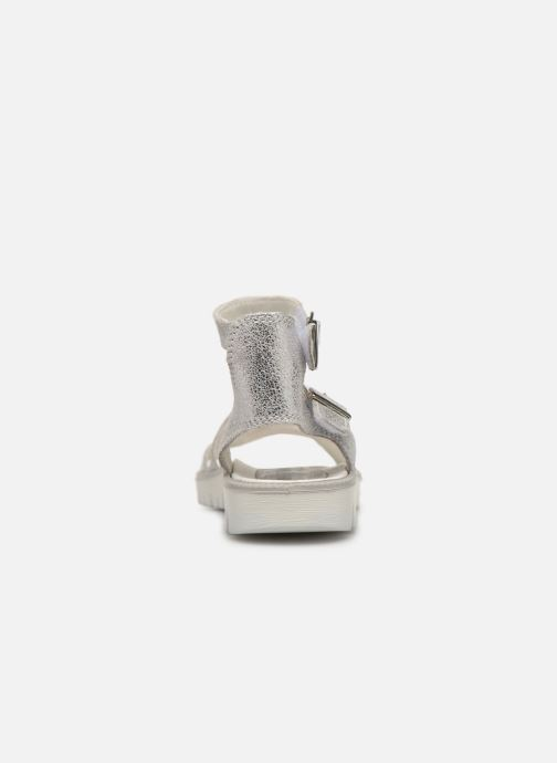 Sandalen Primigi PAX 33906 silber ansicht von rechts