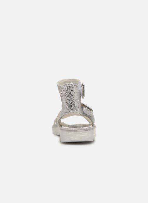 Sandales et nu-pieds Primigi PAX 33906 Argent vue droite