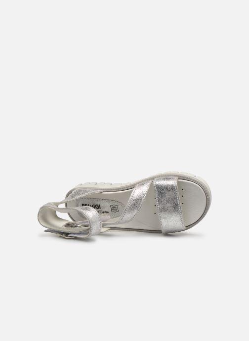 Sandalen Primigi PAX 33906 silber ansicht von links