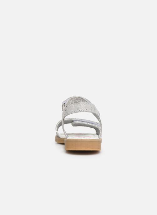 Sandales et nu-pieds Primigi PFD 34396 Argent vue droite