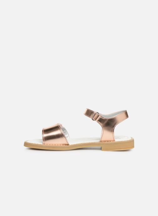 Sandals Primigi PFD 34396 Bronze and Gold front view