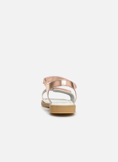 Sandals Primigi PFD 34396 Bronze and Gold view from the right