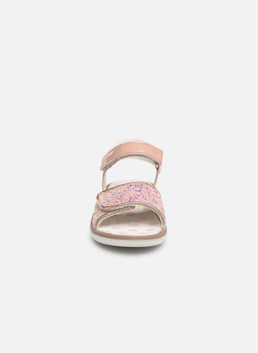 Sandalen Primigi PAL 33901 rosa schuhe getragen