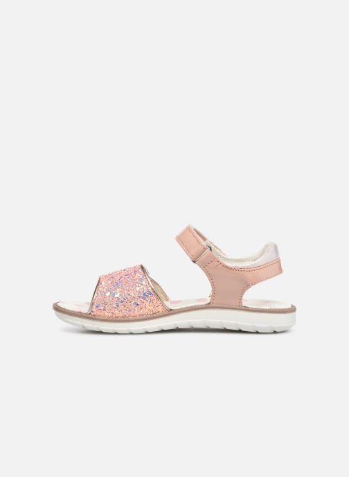 Sandalen Primigi PAL 33901 rosa ansicht von vorne