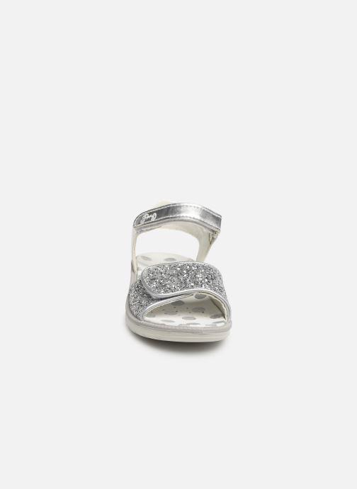 Sandalen Primigi PAL 33901 silber schuhe getragen