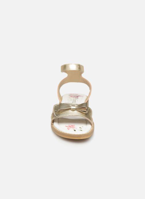 Sandali e scarpe aperte Primigi PFD 34400 Oro e bronzo modello indossato