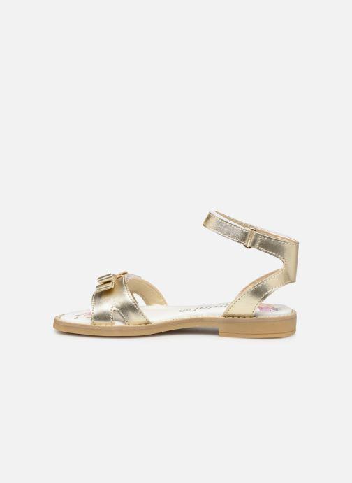 Sandales et nu-pieds Primigi PFD 34400 Or et bronze vue face