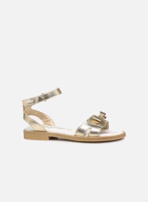 Sandales et nu-pieds Primigi PFD 34400 Or et bronze vue derrière