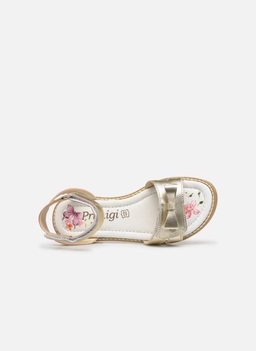 Sandales et nu-pieds Primigi PFD 34400 Or et bronze vue gauche