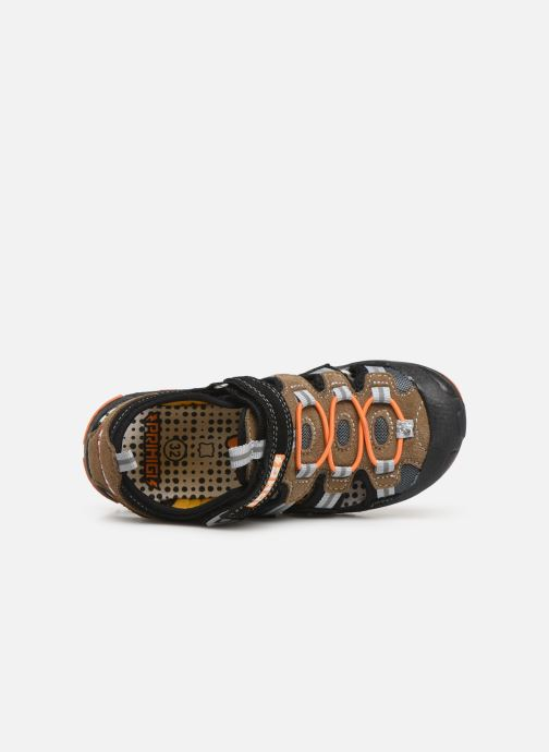 Sandales et nu-pieds Primigi PCD 34625 Noir vue gauche