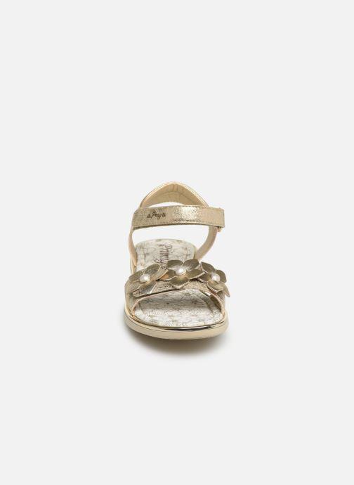 Sandales et nu-pieds Primigi PDI 34357 Or et bronze vue portées chaussures