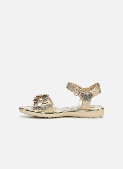 Sandales et nu-pieds Primigi PDI 34357 Or et bronze vue face