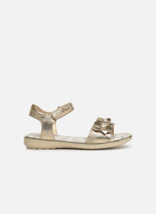Sandales et nu-pieds Primigi PDI 34357 Or et bronze vue derrière