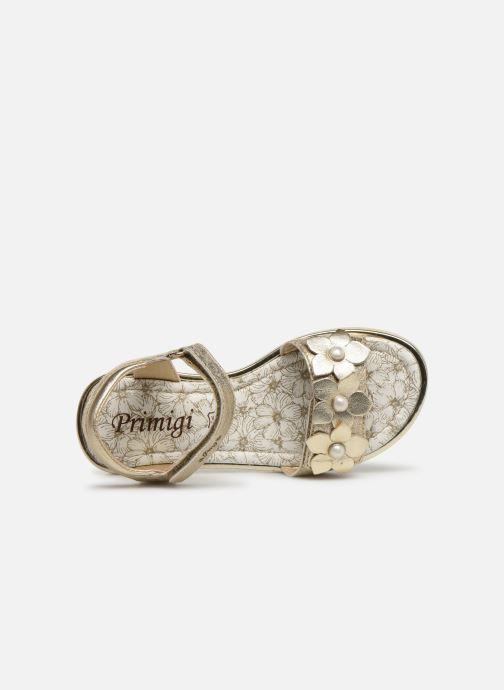 Sandales et nu-pieds Primigi PDI 34357 Or et bronze vue gauche