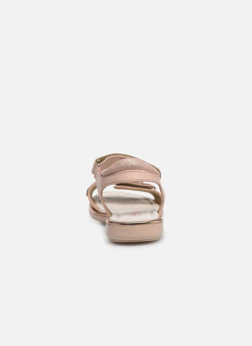 Sandales et nu-pieds Primigi PDI 34357 Rose vue droite