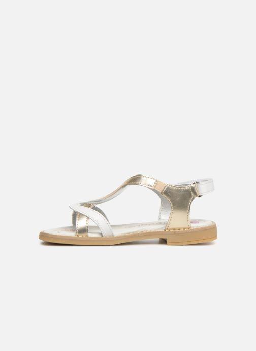 Sandals Primigi PFD 34399 White front view