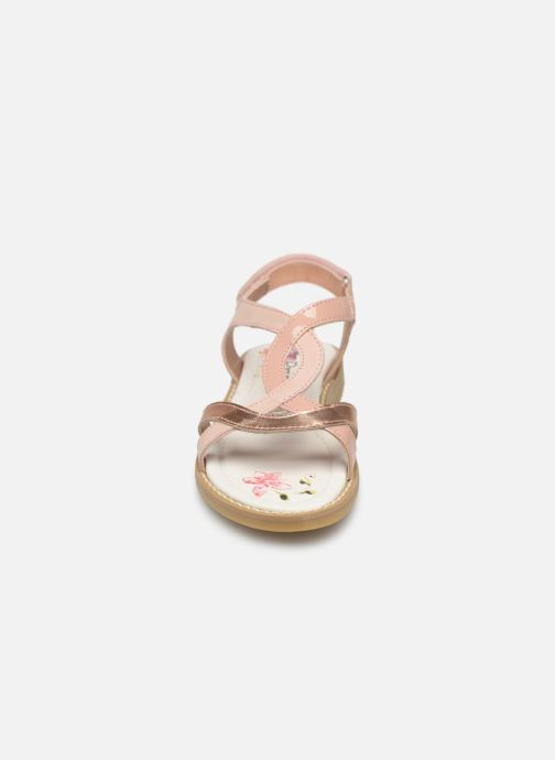 Sandales et nu-pieds Primigi PFD 34399 Rose vue portées chaussures