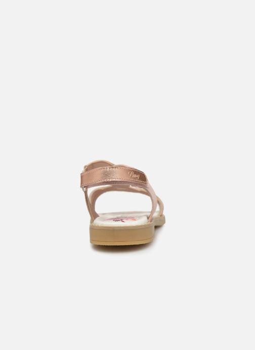 Sandales et nu-pieds Primigi PFD 34399 Rose vue droite