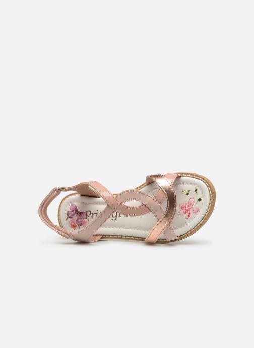 Sandales et nu-pieds Primigi PFD 34399 Rose vue gauche