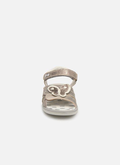 Sandalen Primigi PAL 33903 silber schuhe getragen
