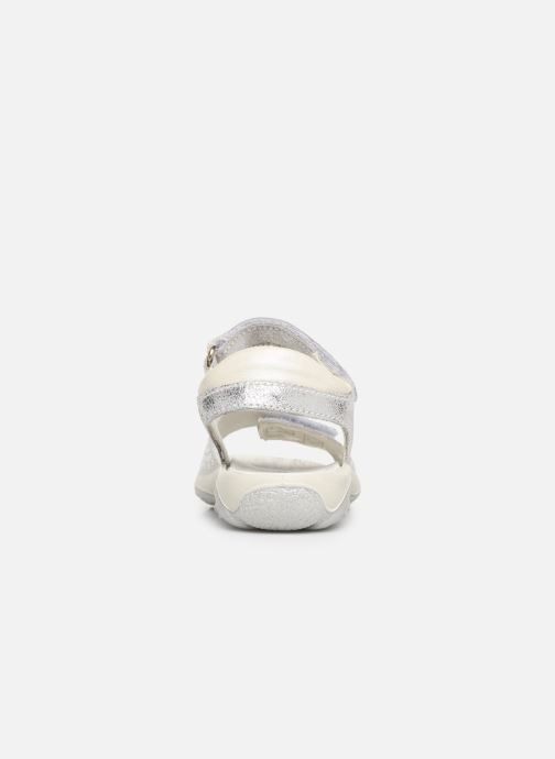 Sandals Primigi PBR 33890 Silver view from the right