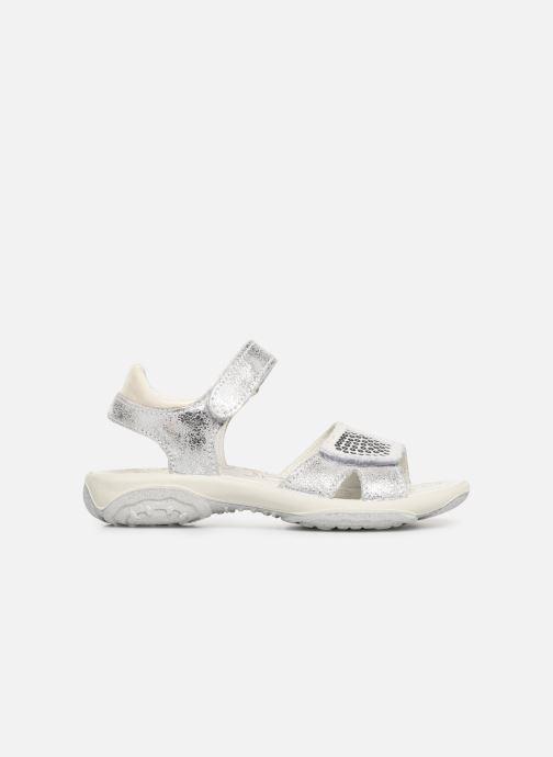 Sandals Primigi PBR 33890 Silver back view