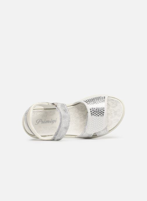 Sandals Primigi PBR 33890 Silver view from the left
