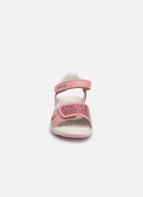 Sandales et nu-pieds Primigi PBR 33890 Rose vue portées chaussures
