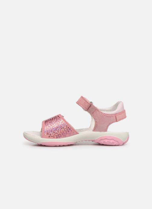Sandales et nu-pieds Primigi PBR 33890 Rose vue face