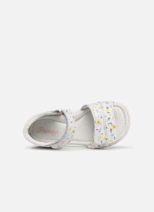 Sandales et nu-pieds Primigi PBT 34070 Blanc vue gauche