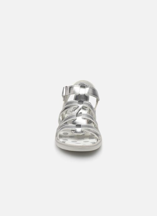 Sandales et nu-pieds Primigi PAL 33902 Argent vue portées chaussures