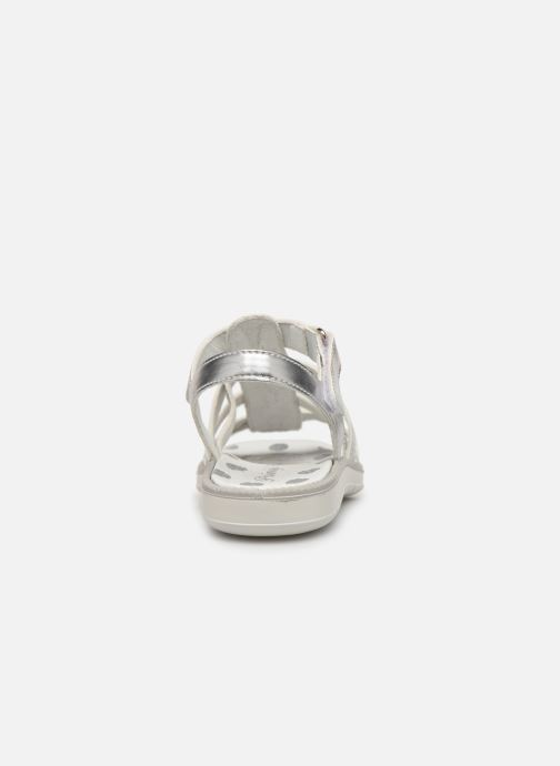 Sandals Primigi PAL 33902 Silver view from the right