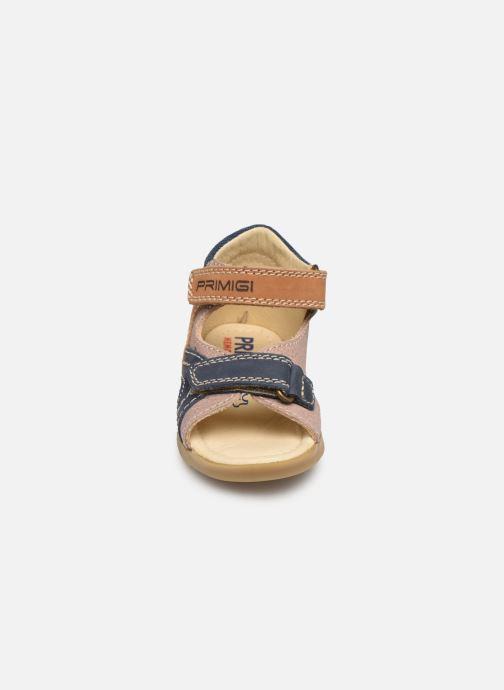 Sandales et nu-pieds Primigi PJO 34056 Marron vue portées chaussures