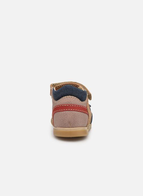 Sandales et nu-pieds Primigi PJO 34056 Marron vue droite
