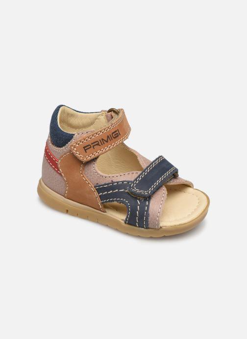 Sandales et nu-pieds Primigi PJO 34056 Marron vue détail/paire