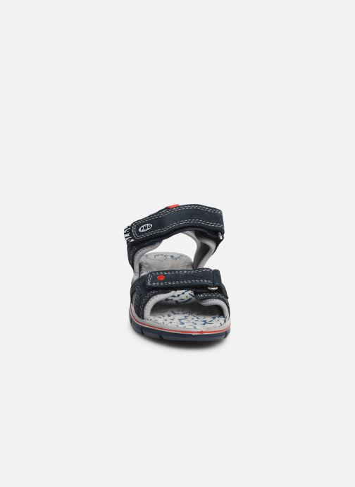 Sandales et nu-pieds Primigi PTV 33968 Bleu vue portées chaussures