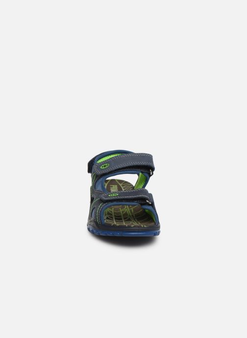 Sandales et nu-pieds Primigi PTU 33974 Bleu vue portées chaussures
