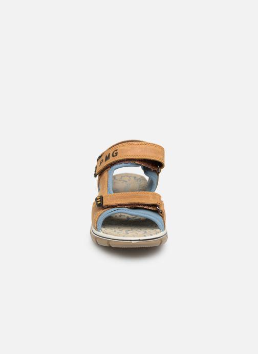 Sandalen Primigi PTV 33967 braun schuhe getragen