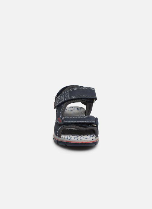 Sandales et nu-pieds Primigi PTV 33967 Bleu vue portées chaussures