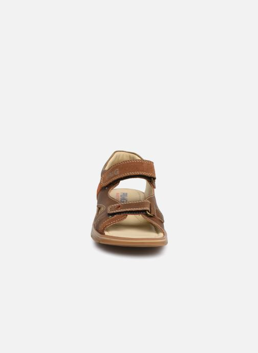 Sandalen Primigi PFP 34217 braun schuhe getragen