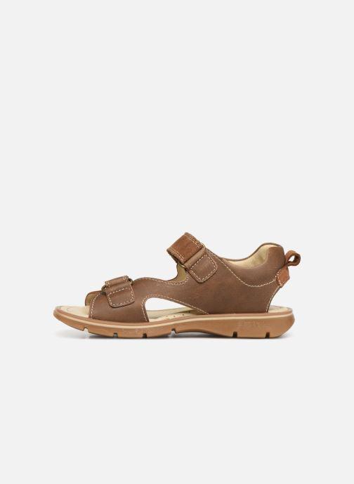 Sandales et nu-pieds Primigi PFP 34217 Marron vue face
