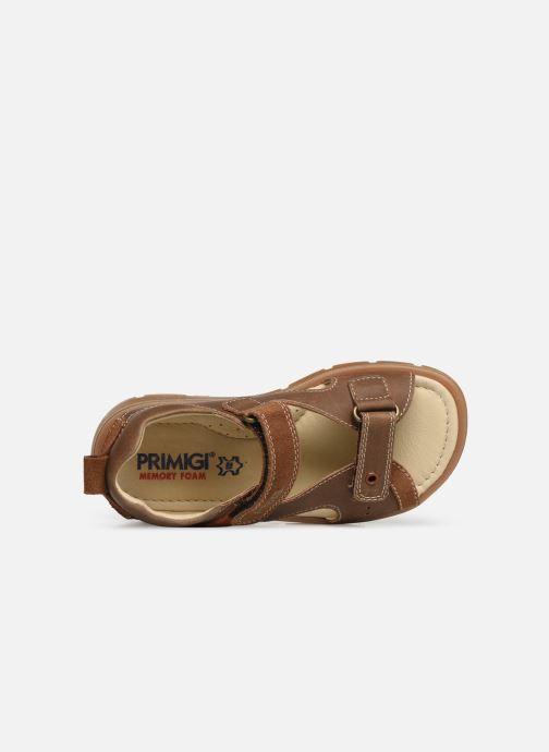 Sandalen Primigi PFP 34217 braun ansicht von links