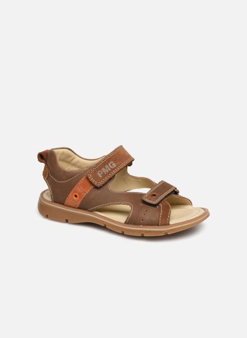 Sandales et nu-pieds Primigi PFP 34217 Marron vue détail/paire