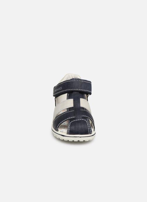 Sandales et nu-pieds Primigi PSW 33782 Bleu vue portées chaussures